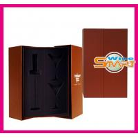 China Foldable Paper board Wine Bottle Box, Wine Packaging Boxes for Gift Packaging on sale