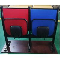 Quality Metal Frame Soft Foam School Desk And Chair With Foldable Iron Writing Pad wholesale