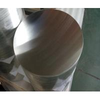 Quality 0.4 - 6.0mm Thickness Aluminum Round Disc High Purity Smooth Surface ISO9001 wholesale