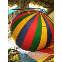 China Single Color Pvc Cotton Lane Inflatable Advertising Balloons For Outdoor Travel Flight on sale