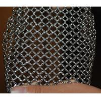 Quality 304 Stainless Steel Chainmail Scrubber Kitchen Cast Iron Hardware Cleaner 7 * 7 inch wholesale