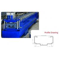 China 1.6MM Galvanize Steel Hydraulic Door Frame Roll Forming Machine on sale