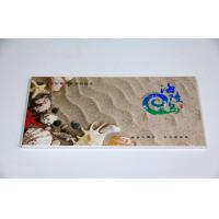 Quality Full Color Die Cutting Business Card Printing Service , Postcard Offset Printing wholesale