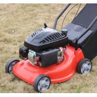 European Design Gas Line Lawn Mower With High Efficiency Engine Plastic Deck