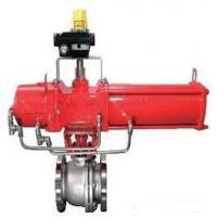 Quality Pneumatic Control Ball Valve DN50 Made By SUS316L Connect By Flange wholesale