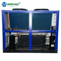 Quality Package Type Pump Included 10HP-50HP Air Cooled Industrial Water Chiller price wholesale