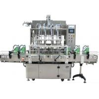 Liquid Beverage Filling Equipment Labeling Machine For Fruit Juice Filling