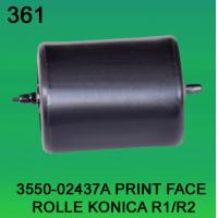 Quality 3550-02437A / 3550 02437A / 355002437A PRINT FACE ROLLER FOR KONICA R1,R2 minilab wholesale