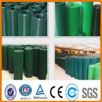 China plastic coated welded wire mesh roll and panel on sale