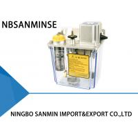 China NBSANMINSE SJR 0.3Mpa 2 Liter Thin oil Lubrication Pump Automatic Intermittent Plunger AC110V AC220V on sale