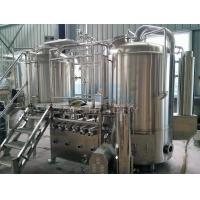 Buy cheap Turnkey Beer Brewing Equipment Popular Design for The Brewhouse from wholesalers
