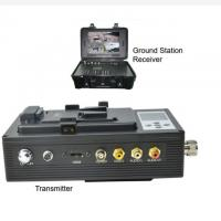 China UAV Long Range Wireless Hd Video Transmitter And Receiver 50km To 100km on sale