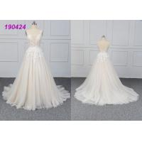 Quality Beautiful Bridal A Line Ball Gown Wedding Dress Gowns Customize Made All Sizes wholesale