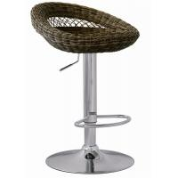 Quality Outdoor Furniture Rattan Bar Stools Adjustable Height SGS Standard wholesale