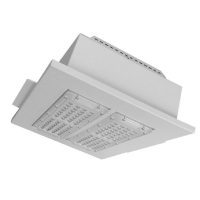 Quality 150W 200W LED Canopy Light Fixtures For Petrol Station wholesale