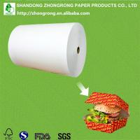 China LDPE coated board for fast food packaging box on sale