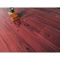 Quality Wine Red Bamboo Fiber Wood Style Ceramic Tile For Administration , Household wholesale