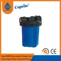 """Quality 10"""" Big Blue Filter Housing , PP Filter Housing RO Water Filter Parts Removes Dirt wholesale"""