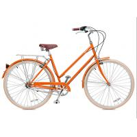 Quality Made in China hi ten steel colorful 26 inch OL elegant city bicicle for lady  single speed wholesale