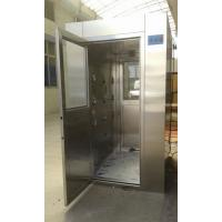 Quality 4 - 8 Person Intelligent Stainless Steel Air Shower , Class 100 Air Shower Room wholesale