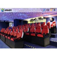 Quality 3 Seats / Set Bearing 450Kg 5D Movie Theater For 39 Chairs Cinema Entertainment wholesale