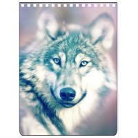 Quality Custom A4 A5 A6 Wolf Images 3D Lenticular Cover With PET / PP Friendly Material wholesale