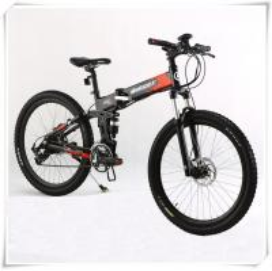 China 36V Folding Electric Bike 25 Km / H Max Speed Folding Electric Mountain Bike on sale