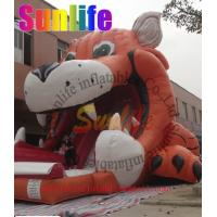 China inflatable tiger slide on sale