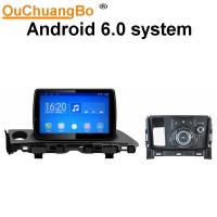 Quality Ouchuangbo car video gps nav for Mazda 6 2017 with Bluetooth connection to the phone then play music android 6.0 system wholesale