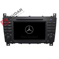 Quality C Class W203 Mercedes Benz Car DVD Player Support Google Maps Online Navigating wholesale