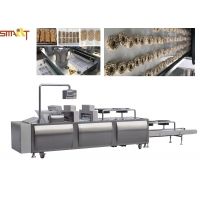 China PLC Control 300kg/h Cereal Bar Forming Machine Stainless Steel on sale