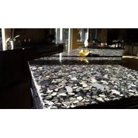 Buy cheap Black Marinace Stone Slab Countertops Granite Contemporary Kitchen Flooring Wall from wholesalers