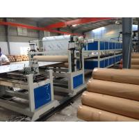 Quality PE Pipe Machine Aluminum Composite Panel Line 5m / min 1200mm Height wholesale