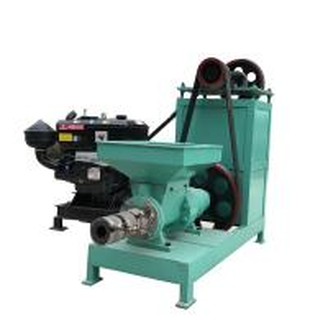 China Screw Type Sawdust Briquette Machine Charcoal Briquette Extruder Machine on sale