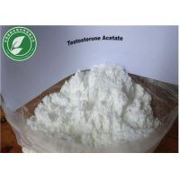 Buy cheap Testosterone Bodybuilding Raw Steroid Powder Testosterone Acetate CAS 1045-69-8 from wholesalers