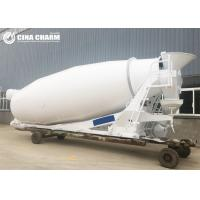 Quality 10m3 Hydraulic Concrete Mixer Truck With Tank Update Drum On Site High Performance wholesale