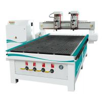 Buy cheap 1325 Double Head CNC Wood Process Center from wholesalers