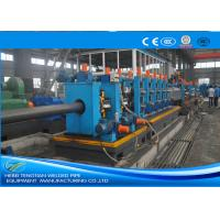 Quality Heavy Duty ERW Pipe Mill Machine Worm Gearing Rectangular 165 * 6mm Pipe Size wholesale