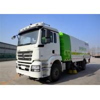 Quality Four Broom Sweeper Truck , Street Sweeper Vacuum Truck For Road Cleaning wholesale