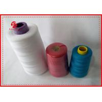 Quality 100% Polyester High Tenacity Sewing Thread 40/2 Polyester Spun Yarn For Dyeing wholesale