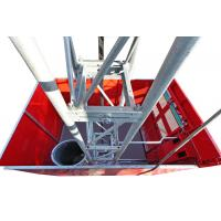 Quality 2 Ton High Capacity Construction Material Lifting Hoist with Mast Hot-dip Galvanized wholesale