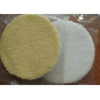 Quality Durable 6 Inch Wool Polishing Pad Round Shape High Security For Car Care wholesale