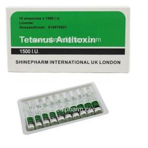 China Tetanus Antitoxin injection 10 Amps *1500 I.U. GMP Medicine BP/CP/USP Standrad on sale