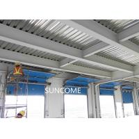 Quality Galvanized Steel Frame High Speed Sectional Doors High frequency Motor wholesale