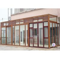 Quality Varies Color Aluminum Casement Windows And Doors European Standard 6063 T5/T6 wholesale