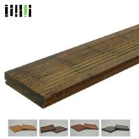 China Natural Wooden Deck Flooring , Solid Bamboo Flooring Traditional Float Installed Type on sale