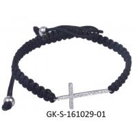 Quality 2013 new fashion 925 sterling silver jewellery cz cross bracelet with competitive price wholesale
