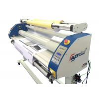 Quality Single / Double Sided Poster Cold Lamination Machine Imported Silicone Roller  wholesale