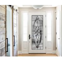 Quality natural light  Sound Insulation Inlaid Door Glass For Building precise measurements wholesale