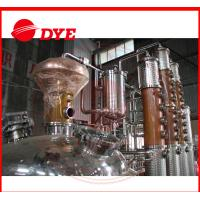 Quality 500L Copper Distiller Apparatus , Industrial Alcohol Distillation Equipment wholesale
